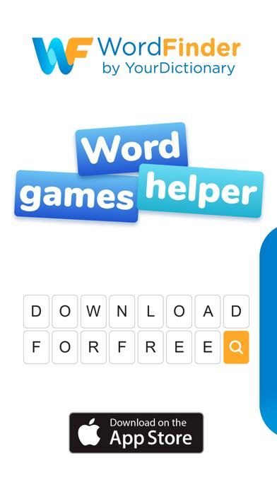 WordFinder by YourDictionary iOS