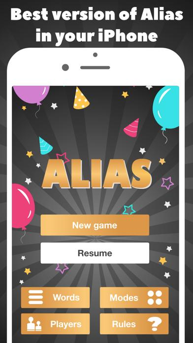 Alias - party game guess word iOS