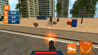 Machine Gun Snip War Shooting iOS