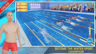 Swimming Contest Online iOS