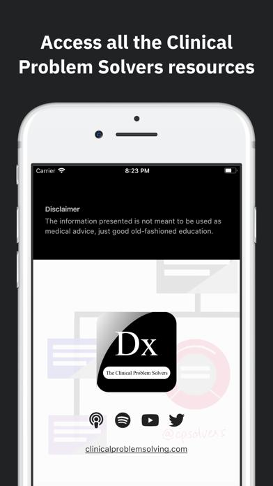The Clinical Problem Solvers iOS