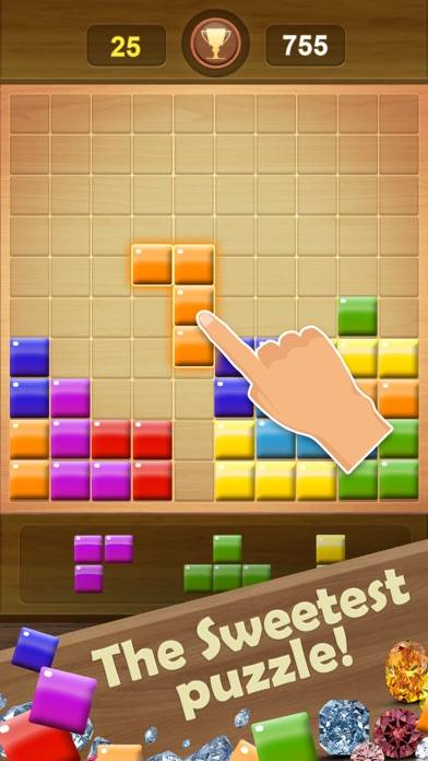 Wooden Block Puzzle Game iOS