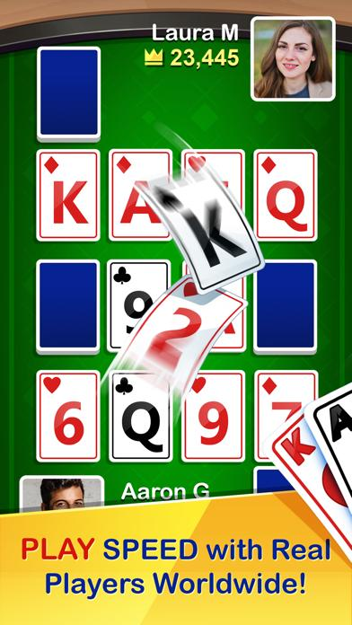 SPEED - Heads Up Solitaire iOS
