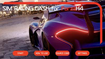 Sim Racing Dash for Forza H4 iOS