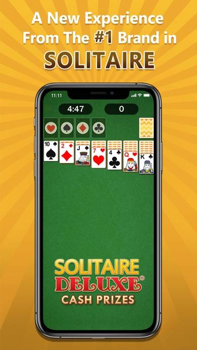 Solitaire Deluxe Cash Prizes