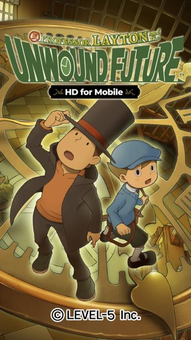 Layton: Unwound Future in HD