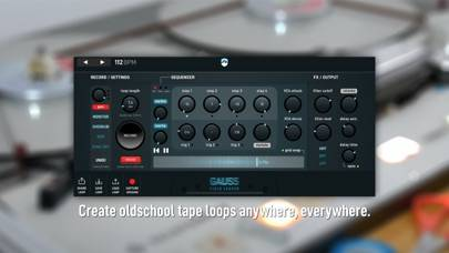 Gauss Field Looper iOS