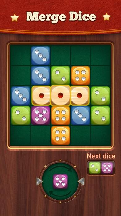 Woody Dice: Merge puzzle game iOS