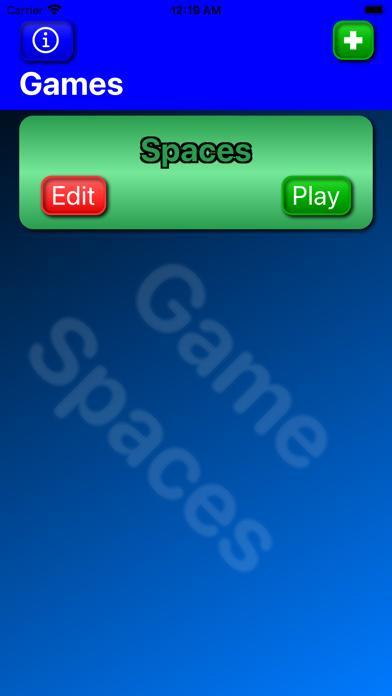 Game Spaces iOS