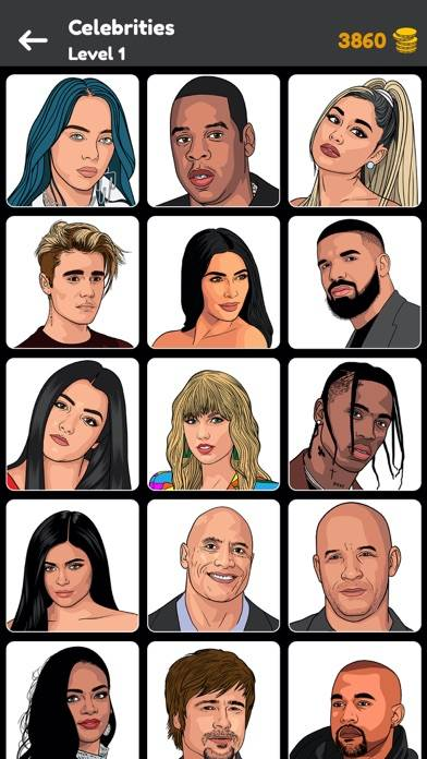 Quiz: Guess the Celeb 2021 iOS