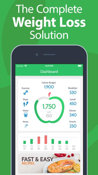 Calorie Counter by MyNetDiary iOS