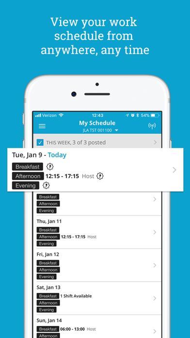 iSchedule screenshot 1