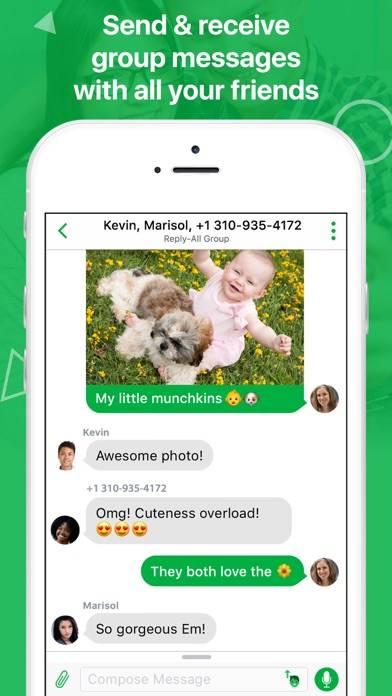 textPlus Free Texting plus Free Messenger screenshot 3