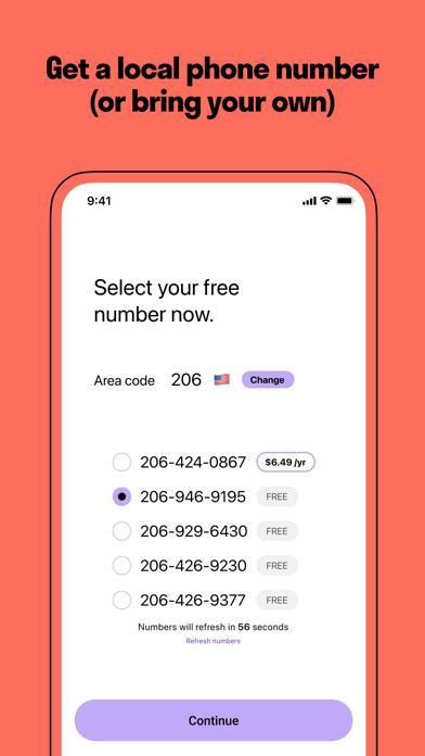 TextNow plus Voice screenshot 2