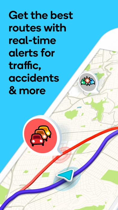 Waze social GPS traffic & gas iOS