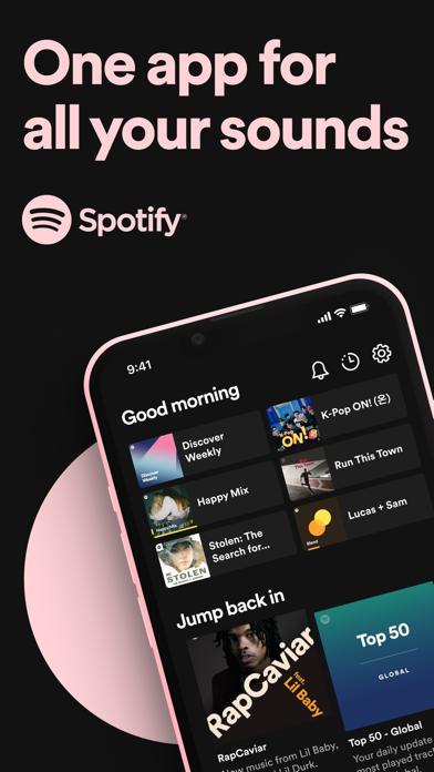 Spotify screenshot 1