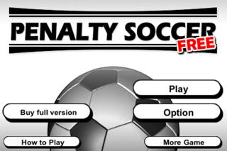 Penalty Soccer Free iOS