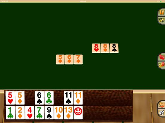Touch Rummy HD iPhone Screenshot