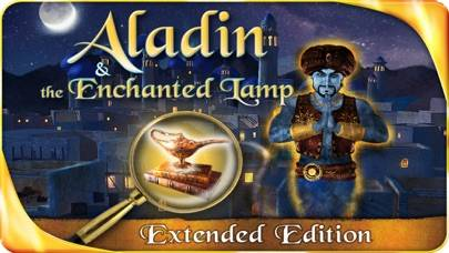 Aladin and the Enchanted Lamp iPhone Screenshot