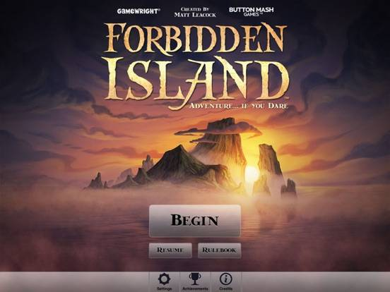 Forbidden Island iPhone Screenshot