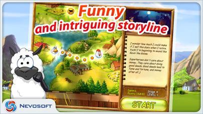 Supercow: funny farm arcade platformer Lite screenshot 2
