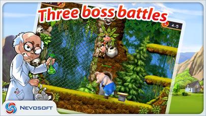 Supercow: funny farm arcade platformer Lite screenshot 4