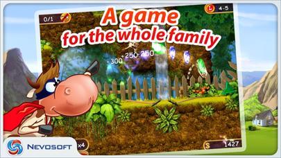 Supercow: funny farm arcade platformer Lite screenshot 5