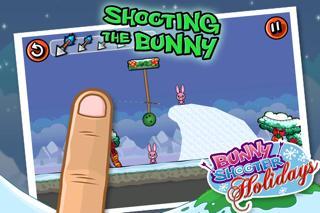 Bunny Shooter Christmas screenshot 1