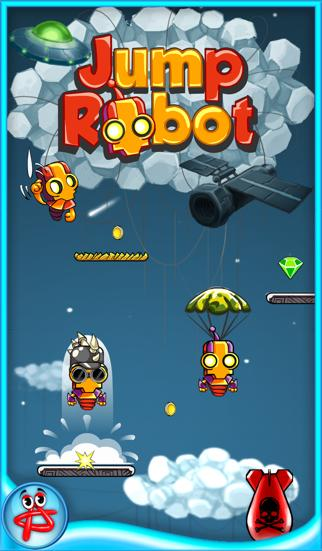 Jump Robot: Free Space Adventure iOS