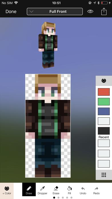 Minecraft Skin Studio screenshot 1