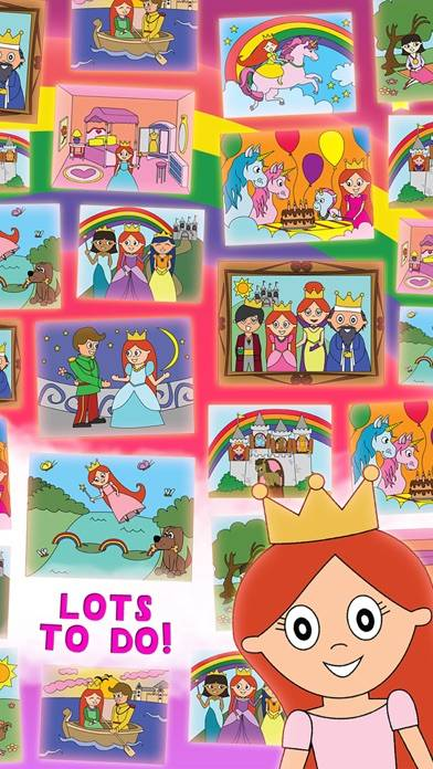 Princess Fairy Tale Coloring Wonderland for Kids and Family Preschool Ultimate Edition screenshot 3