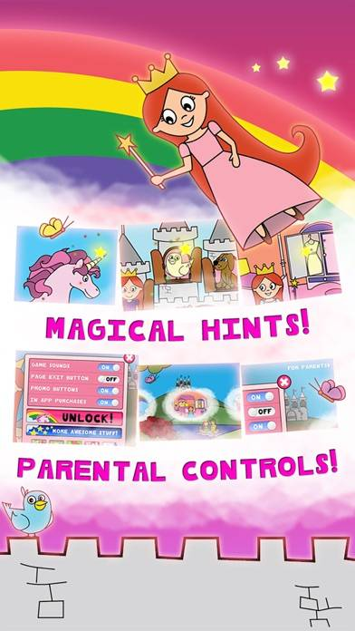 Princess Fairy Tale Coloring Wonderland for Kids and Family Preschool Ultimate Edition screenshot 4