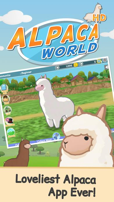Alpaca World HD plus iPhone Screenshot