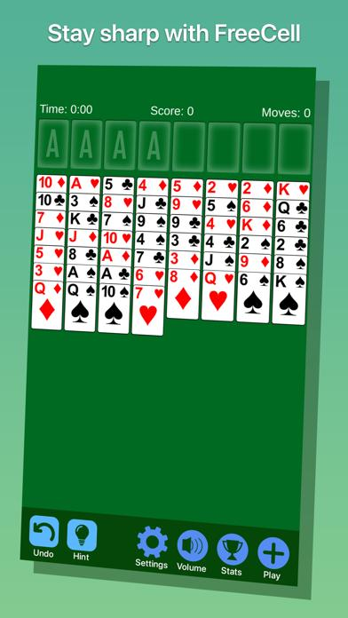 FreeCell· iPhone Screenshot