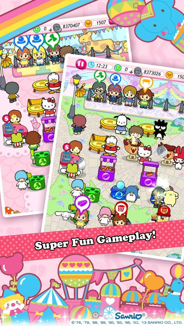 Hello Kitty Carnival screenshot 2