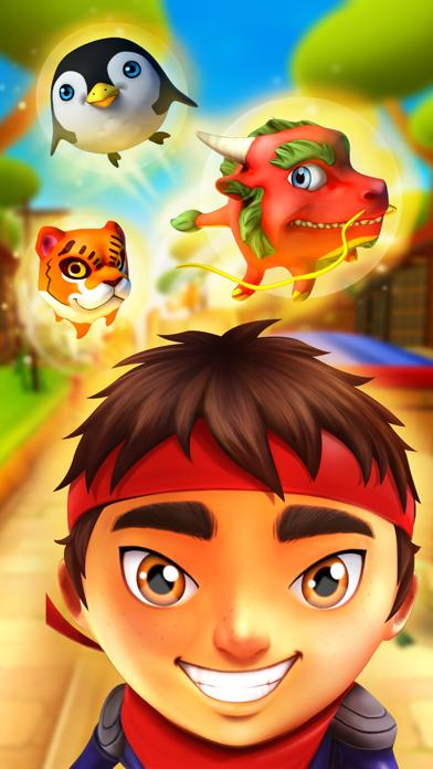 Ninja Kid Run by Fun Games For Free screenshot 2