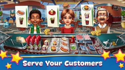 Cooking Fever iPhone Screenshot
