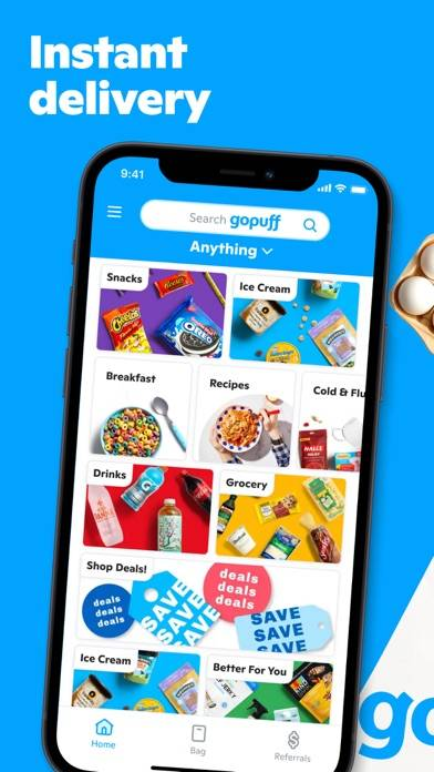 goPuff: Drink & Food Delivery iOS