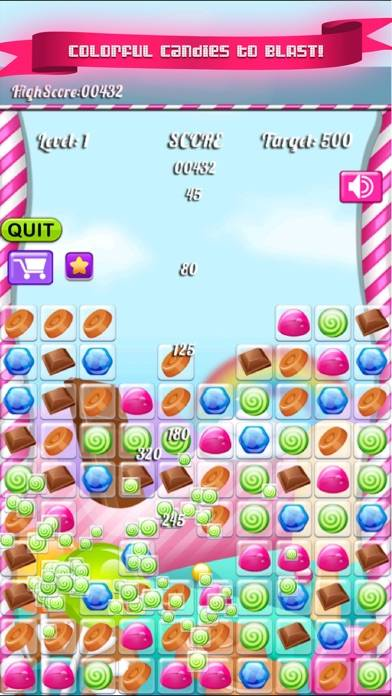 Jelly Candy Chocolate Sweet Blast iPhone Screenshot