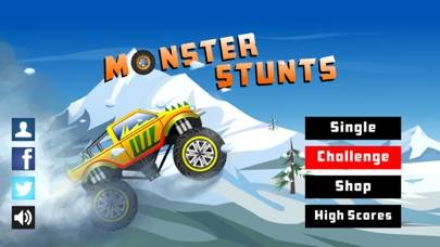Monster Stunts iPhone Screenshot