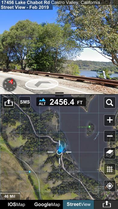 Altimeter GPS plus (Compass Speedometer & Location Tracking) screenshot 3