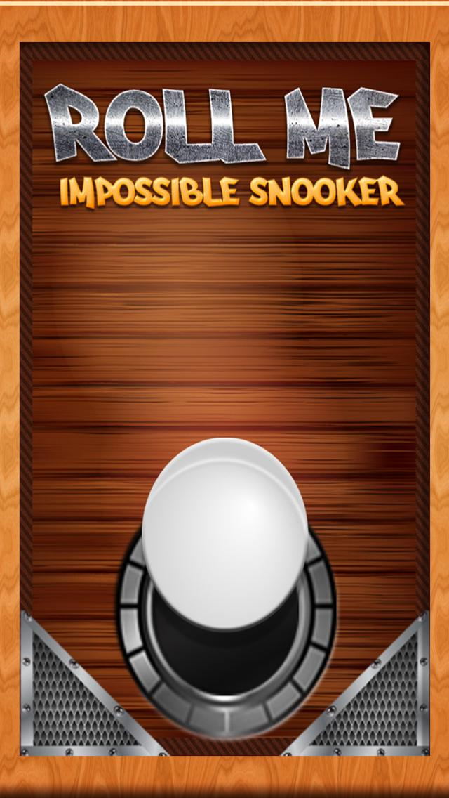 Roll me: The Impossible Snooker iPhone Screenshot