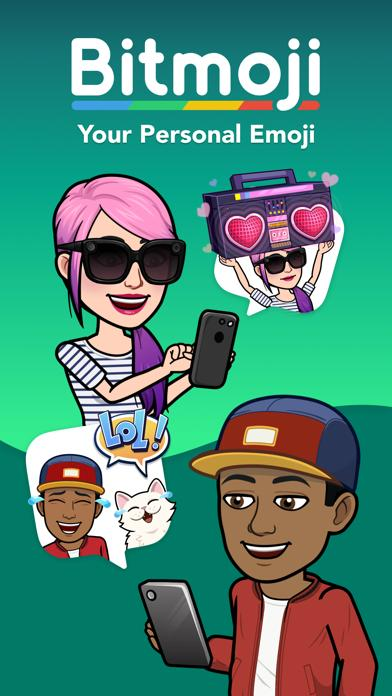 Bitmoji - Avatar Emoji Keyboard by Bitstrips screenshot 1