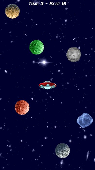 Asteroids, Defend your Spaceship (Asteroids Attack) iPhone Screenshot