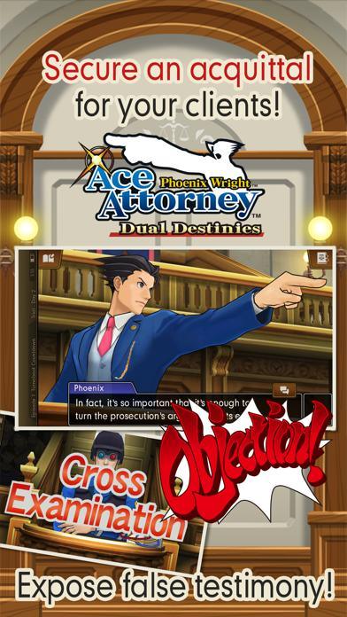 Phoenix Wright: Ace Attorney – Dual Destinies iPhone Screenshot