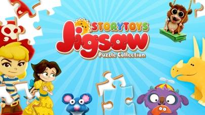 The StoryToys Jigsaw Puzzle Collection iPhone Screenshot