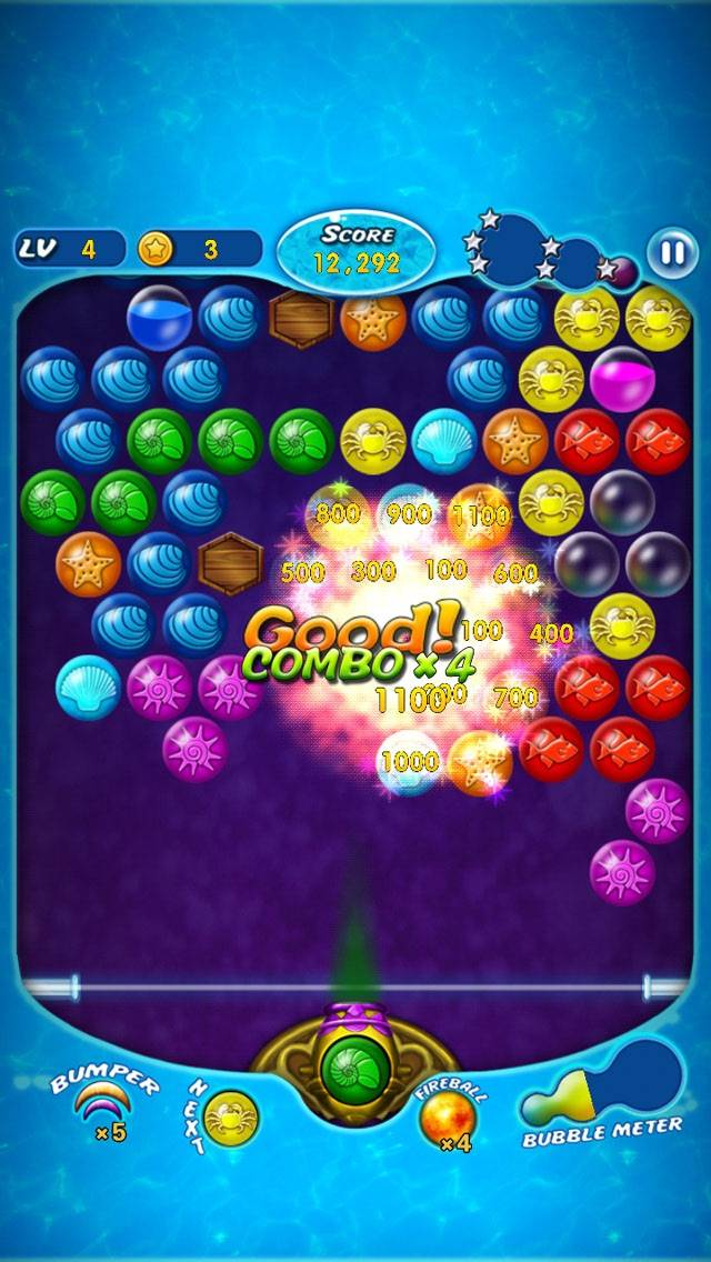 Bubble Shooter Master Legend iPhone Screenshot
