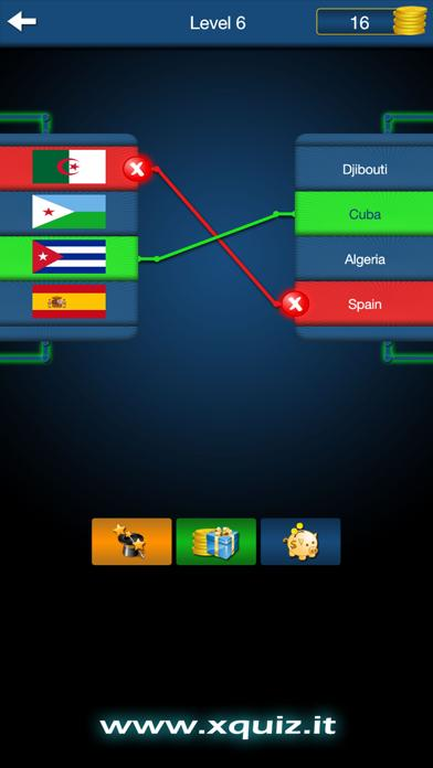 xQuiz Flags of the World iPhone Screenshot