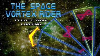 The Space Vortex Rider iPhone Screenshot