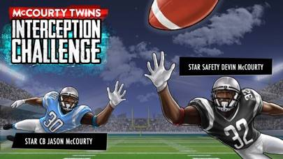 McCourty Twins: INT Challenge iPhone Screenshot